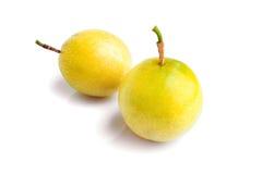 Fresh Passion fruit on white background Stock Image