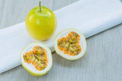 Fresh Passion fruit Stock Image