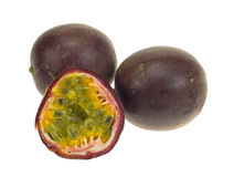 Fresh passionfruit Stock Photos