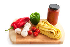 Fresh pasta Royalty Free Stock Photography