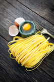 Fresh pasta Stock Photography
