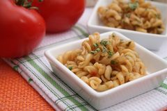 Fresh pasta. Some fresh pasta in a bowl Royalty Free Stock Images