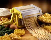 Fresh pasta Stock Image
