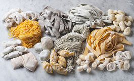 Fresh pasta Royalty Free Stock Photos
