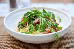 Fresh pasta dish Stock Images