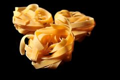Fresh pasta italian gourmet elaboration Stock Photography