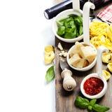 Fresh pasta Stock Images