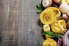 Fresh pasta Royalty Free Stock Images