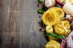 Fresh pasta Stock Photos