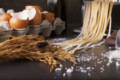 Fresh pasta Stock Photo