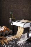 Fresh pasta Stock Photo