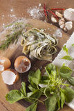 Fresh Pasta Stock Image