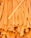 Fresh pasta for sale Stock Image