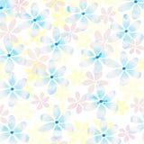 Fresh pastel floral background Stock Image