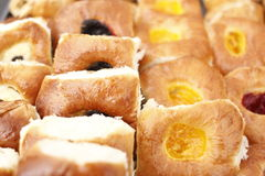 Fresh pastries Stock Image