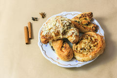 Fresh pastries Stock Photography