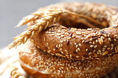 Fresh pastry stock photo