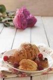Fresh pastry Stock Image