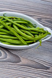 Fresh pea pods Royalty Free Stock Photos