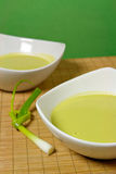 Fresh Pea Soup Royalty Free Stock Photography