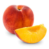 Fresh peach Royalty Free Stock Images