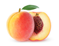 Free Fresh Peach Royalty Free Stock Photography - 46849647