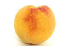 A fresh peach Royalty Free Stock Image