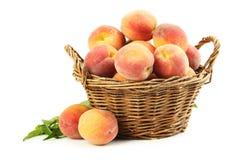 Fresh peach fruit Royalty Free Stock Image