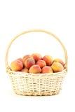 Fresh peach fruit Stock Photo