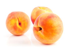 Fresh peach fruits Royalty Free Stock Photography