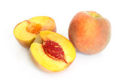 Fresh peach fruits Royalty Free Stock Photography