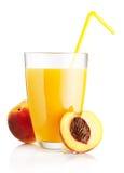 Fresh peach juice Royalty Free Stock Image