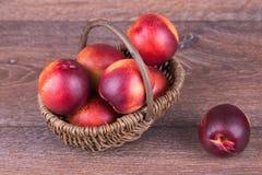 Fresh Peach Stock Images