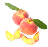 Fresh peach Royalty Free Stock Photos