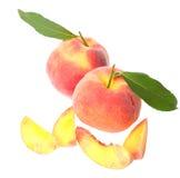 Fresh peach Royalty Free Stock Photos
