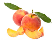 Fresh peach Royalty Free Stock Photography