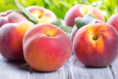 Fresh peaches Royalty Free Stock Photo