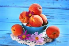 Fresh peaches Stock Image