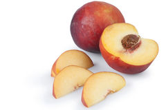 Fresh Peaches Stock Images