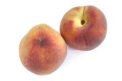 Fresh Peaches. A Fresh Peaches on the white Royalty Free Stock Photos
