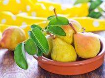 Fresh pear Stock Image