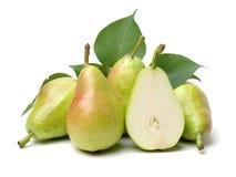 Fresh pear. Isolated on white background royalty free stock image