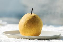 Fresh pear. Rich in nutrition, contains a variety of vitamins and cellulose fruit stock images