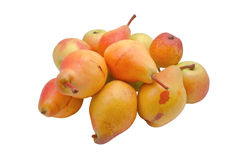 Fresh pears and apples Royalty Free Stock Photography