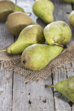 Fresh pears from the market Royalty Free Stock Image