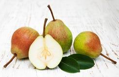 Fresh pears Stock Photo