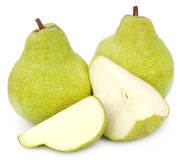 Fresh pears Royalty Free Stock Images