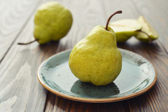 Fresh pears Stock Photos