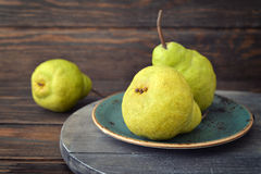 Fresh pears Royalty Free Stock Photos
