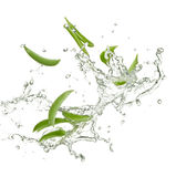 Fresh peas Stock Images